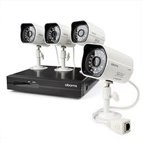 ZMODO New 4CH 720P HD PoE NVR Security Camera System with 4