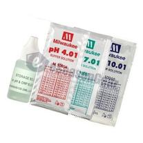 4x20ml, Storage + pH 4 + 7 + 10 Buffer Calibration/Solution/