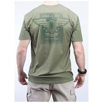 5.11 Earn Your Wings Logo T-Shirt OD Green size L