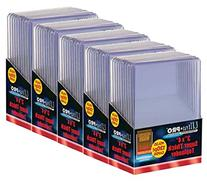 5 Ultra Pro 130pt Top Loader Packs - 10 Toploaders Per Pack