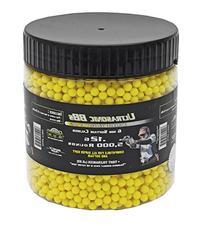 5,000-pc. Ultrasonic .12G BB's - Yellow