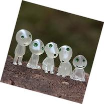5 Pcs/lot Princess Mononoke Luminous Tree Elves Spirit