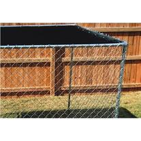 5'8''ft. X 10ft. Black Dog Kennel Shade Covers / Sunblock