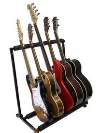 Zenison 5 Guitar Stand Multiple Five Instrument Display Rack