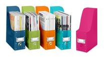Whitmor Book & Magazine Organizers, Set of 5, Multicolor