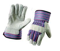 G & F 5015L-5 Regular Cowhide Leather Palm Work Gloves for