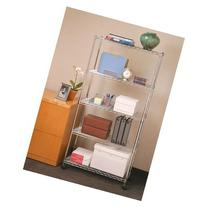 5-Shelf Home-Style UltraZinc Steel Wire Shelving System,