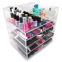 Sorbus 5-Tier Acrylic Cosmetic and Makeup Storage Case