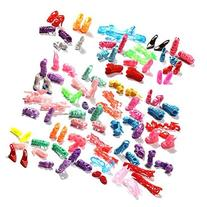 50 Pairs Different High Heel Shoes Boots Accessories For