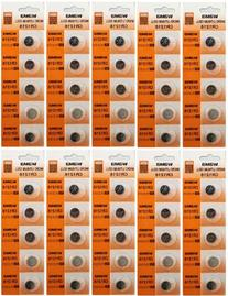 50 Powertron CR1216 Lithium Button Cell batteries, 5-Pcs
