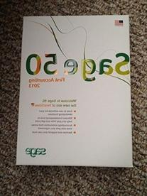 Sage 50 First Accounting Software 2013