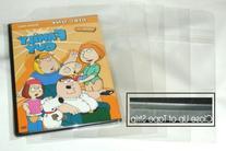 500 OPP Plastic Bag for Slim 7mm DVD Case