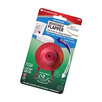 Fluidmaster 502P21 Universal Flapper with Microban, Red
