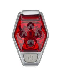 Nathan 5081NFR Hyper-Brite Reflective Gear Strobe Light,