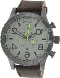 Nixon Men's A1241388-00 51-30 Chrono Leather Analog Display