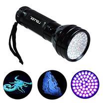 LOFTEK 51 UV Ultraviolet Flashlight 395 nM LED Handheld