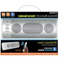 Xtreme 51893 Wireless Bluetooth Stereo Speaker - Retail