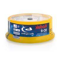 Kodak 52115 Blu-Ray White Inkjet Printable - 15 Pack