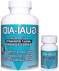"600 Guai-Aid 600mg ""Ultra-pure"" Guaifenesin Expectorant"