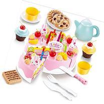 54pcs DIY Cutting Birthday Cake Children Kids Baby Early