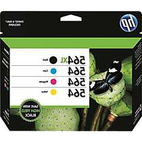 HP 564XL/564 High Yield Black and Standard C/M/Y Color Ink