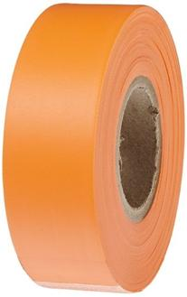 Brady 58352,  Flagging Tape,  Fluorescent Orange