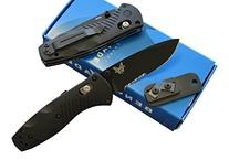 Benchmade 585SBK Mini Barrage Assisted Opening Knife with