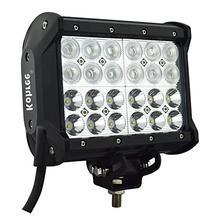 Kohree 7 Inch 72W Off Road LED Work Light Bar Fog Light