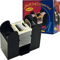 6 Deck Automatic Card Shuffler Use It As a Poker Card