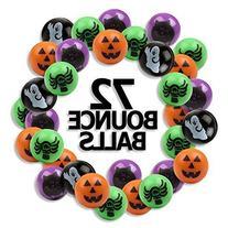 "6 Dozen  Bright Halloween Bouncing Balls 1""; Perfect for"