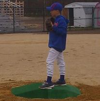 """Elitepitch 6""""h Game and Training Youth Portable Baseball"""