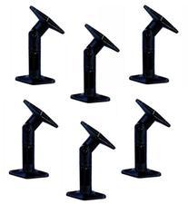 6 / Six Universal Adjustable Wall / Ceiling Speaker Brackets