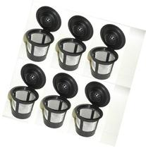 Generic 6 x Solo Coffee Pod Filters Compatible with Keurig K