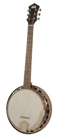 Recording King 6-String Banjo Regular