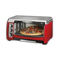 Hamilton Beach® 6-Slice Red Toaster Oven