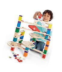 Hape 6009 Quadrilla Vertigo 134pc Marble Run with Extra Bag