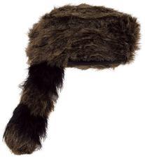 Beistle 60264 Coonskin Cap - Pack of 6