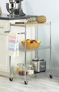 Whitmor 6056-37 Supreme Kitchen Cart