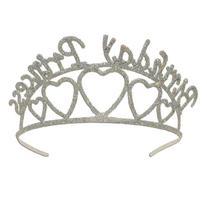 Beistle 60631 Glittered Metal Birthday Princess Tiara