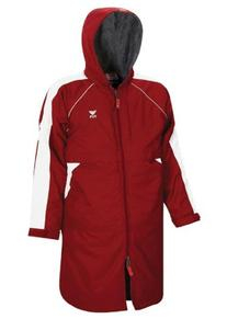 TYR 610WASP2YS Youth Alliance Parka, Red, Small