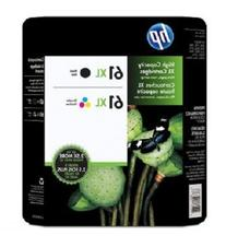 HP 61XL Black and 61XL Color Combo