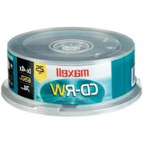 MAXELL 630026 80-MINUTE/700 MB CD-RWS
