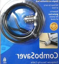 Kensington 64050 ComboSaver Notebook Lock and Security Cable