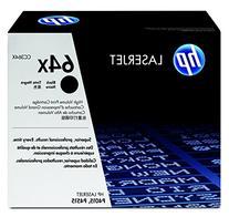 HP 64X  Black High Yield Original LaserJet Toner Cartridge