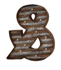 IMAX 65331 Artistically Designed Leah Lighted Ampersand