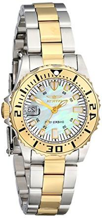 Invicta Women's 6895 Pro-Diver Stainless Steel 18k Yellow