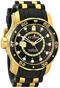 aabc11d28cb0 Invicta Men s 6991 Pro Diver Collection GMT 18k Gold-Plated