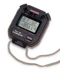 Westward 6JG70 Digital Stopwatch, Multiline LCD
