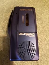 Olympus S-702 Pearlcorder Microcassette Recorder - Blue