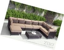 Zuo 703640 Pinery Right Rhf Corner Chaise